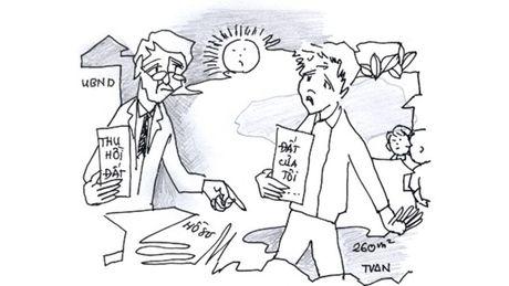 Quan Nam Tu Liem (Ha Noi): 10 ho dan khieu nai viec bi thu hoi dat - Anh 1