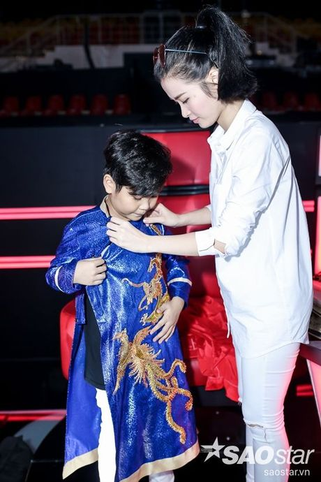 Gia dinh Giong hat Viet nhi 2016 hoi ngo truoc dem Chung ket - Anh 3