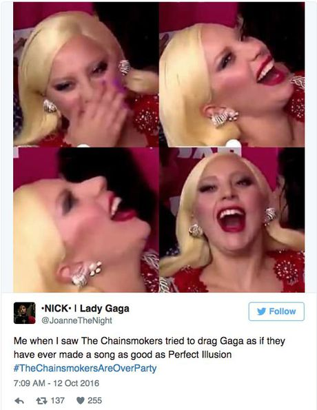 Het che bai Lady Gaga den nghi an dao nhai, bo doi Chainsmoker muon gi? - Anh 2