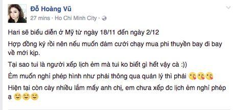 Quan ly len tieng ve tin don dam cuoi Tran Thanh - Hari Won - Anh 3