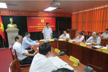 Doan Chu tich Tong Lien doan lao dong Viet Nam: Chuan bi cho Dai hoi XII Cong doan Viet Nam - Anh 1