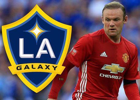 LA Galaxy se 'tram' Gerrard de don duong cho Rooney - Anh 1