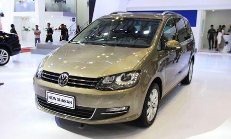 Volkswagen Sharan ve Viet Nam, doi dau Honda Odyssey - Anh 1