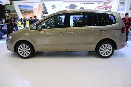 Volkswagen Sharan ve Viet Nam, doi dau Honda Odyssey - Anh 2