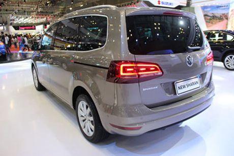Volkswagen Sharan ve Viet Nam, doi dau Honda Odyssey - Anh 3