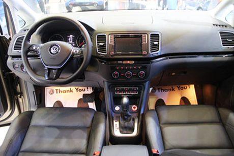 Volkswagen Sharan ve Viet Nam, doi dau Honda Odyssey - Anh 6