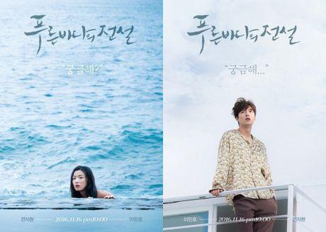 Phim moi cua Lee Min Ho va Jun Ji Hyun tung poster gay to mo - Anh 1