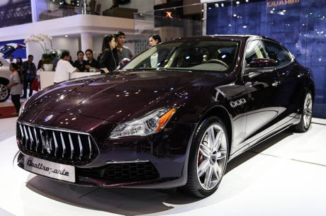 Maserati Quattroporte 2017 gia tu 6,1 ty o Viet Nam - Anh 1