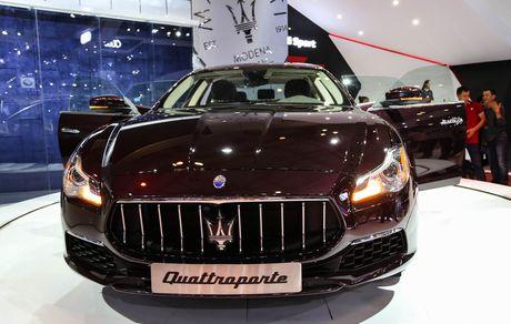 Maserati Quattroporte 2017 gia tu 6,1 ty o Viet Nam - Anh 2