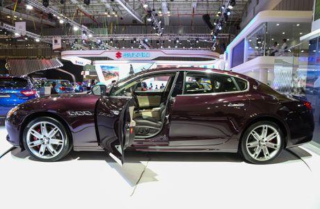 Maserati Quattroporte 2017 gia tu 6,1 ty o Viet Nam - Anh 3