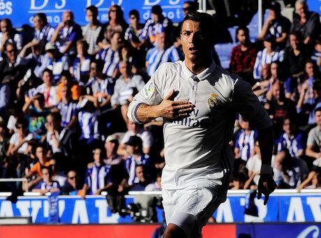 Ronaldo lap hat-trick, Real thang dam Alaves 4-1 - Anh 4