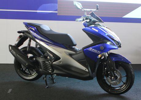 Yamaha ra mat NVX - xe tay ga thay the Nouvo - Anh 1