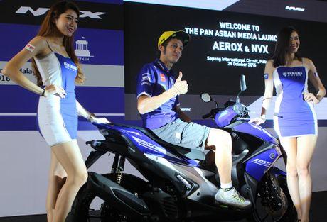 Yamaha ra mat NVX - xe tay ga thay the Nouvo - Anh 2