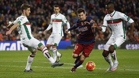 Truc tiep Barca vs Granada, 1h45 ngay 30/10: Khong the can Messi - Anh 1