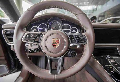 Chiem nguong 'kiet tac' Porsche Panarema the he moi gia 10,6 ty dong lan dau tien xuat hien tai Viet Nam - Anh 7