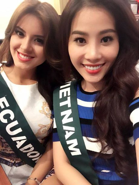 Nam Em vao top 8 Hoa hau Trai dat 2016 - Anh 2