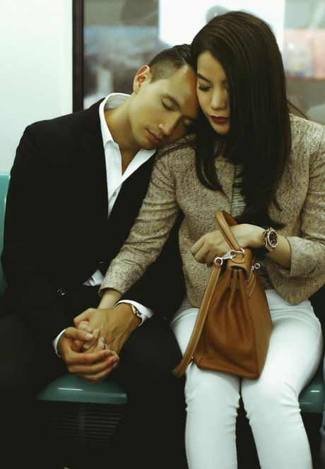 Sau nghi van tan tinh nguoi moi, Kim Ly van tinh tu ben Truong Ngoc Anh - Anh 2