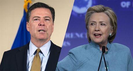 Bi tai dieu tra be boi email, ba Clinton gian du yeu cau FBI giai thich ro ly do - Anh 1