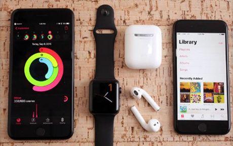 Apple lui thoi diem ra mat tai nghe khong day AirPods - Anh 1