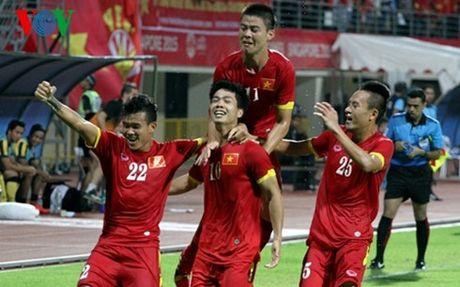 HLV Hoang Gia: 'Cau thu choi V- League tu duy tot hon dong lua U21' - Anh 1