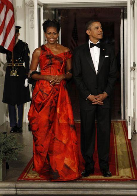 40 bo trang phuc dep nhat cua De nhat Phu nhan Michelle Obama (Phan 1) - Anh 10