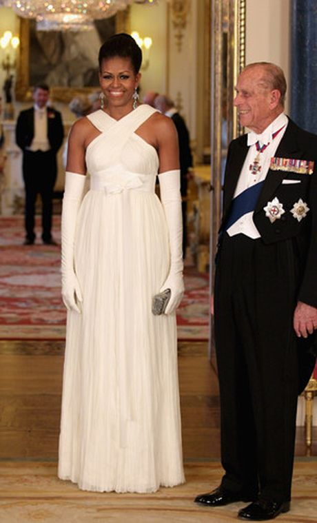 40 bo trang phuc dep nhat cua De nhat Phu nhan Michelle Obama (Phan 1) - Anh 12