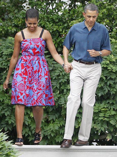 40 bo trang phuc dep nhat cua De nhat Phu nhan Michelle Obama (Phan 1) - Anh 13