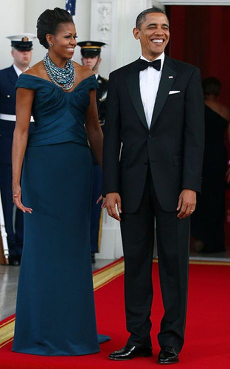 40 bo trang phuc dep nhat cua De nhat Phu nhan Michelle Obama (Phan 1) - Anh 19