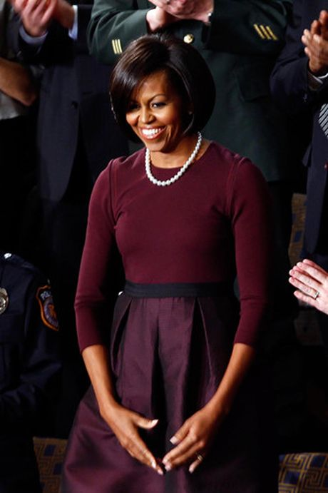 40 bo trang phuc dep nhat cua De nhat Phu nhan Michelle Obama (Phan 1) - Anh 8