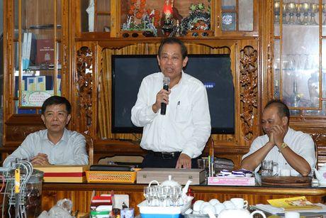 Pho Thu tuong Truong Hoa Binh tham giao xu Xuan Hoa (Quang Binh) - Anh 1