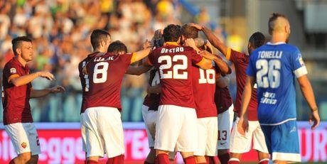 21h00 ngay 30/10, Empoli vs AS Roma: Kho can khach - Anh 1