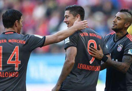 Bayern nhan cu hich tu Lewandowski - Anh 1