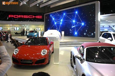 'Soi' dan sieu xe Porsche gan 40 ty tai trien lam VIMS 2016 - Anh 1