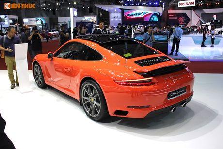 'Soi' dan sieu xe Porsche gan 40 ty tai trien lam VIMS 2016 - Anh 4