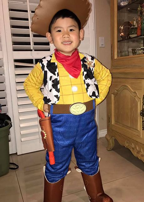 Tao hinh de thuong cua dan nhoc ti nha sao Viet ngay Halloween - Anh 2