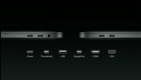 MacBook Pro moi cat bot phu kien, logo Apple khong phat sang - Anh 4