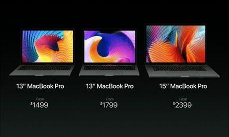 MacBook Pro moi cat bot phu kien, logo Apple khong phat sang - Anh 5