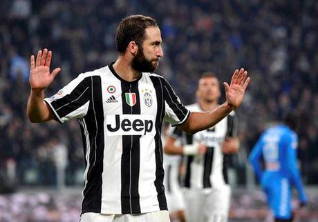 Juventus 2-1 Napoli: 'Phan do' Higuain - Anh 3