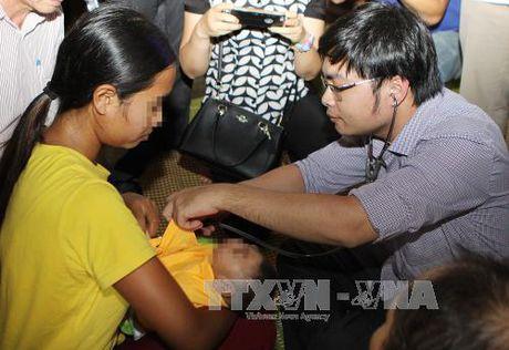 Tre mac chung dau nho tai Dak Lak nghi do Zika - Anh 1