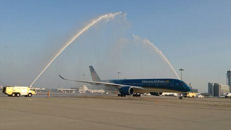 Vietnam Airlines khai thac Airbus A350 chang TP Ho Chi Minh - Osaka - Anh 1
