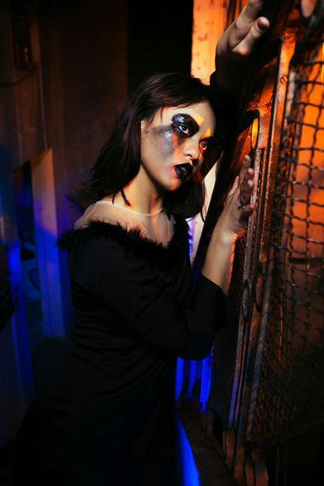 Mai Ngo: 'De mat moc khong ke may da la hoa trang Halloween' - Anh 12