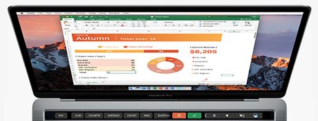 Microsoft Office lam viec voi tinh nang Touch Bar se nhu the nao - Anh 4