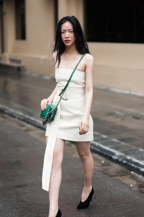 Dien vien Mai Thanh Ha dien trang phuc bo sat, khoe duong cong - Anh 6
