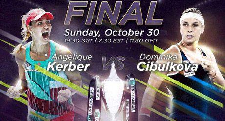Kerber – Cibulkova: Lan dau tien ngot ngao (CK WTA Finals) - Anh 1