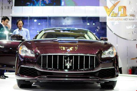Ngam dan o to long lanh tai trien lam Vietnam International Motor Show 2016-P2 - Anh 14