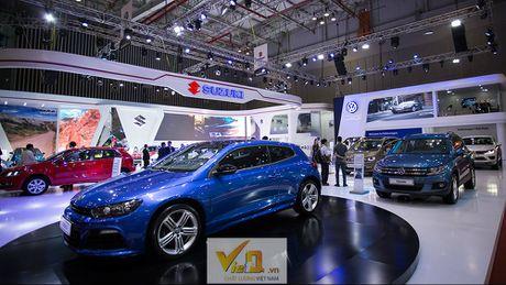 Ngam dan o to long lanh tai trien lam Vietnam International Motor Show 2016-P2 - Anh 6