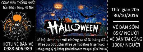 Nhung dia diem thu hut gioi tre Ha Noi dip Halloween - Anh 1