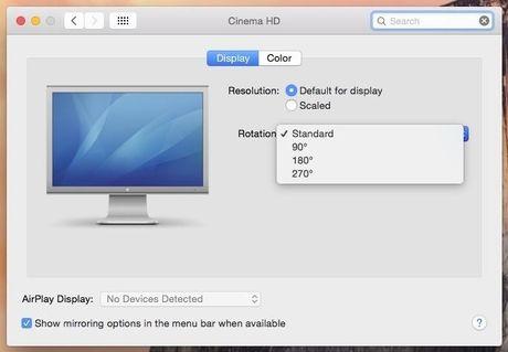 Huong dan xoay man hinh tren may tinh Windows, Mac, va Linux - Anh 2