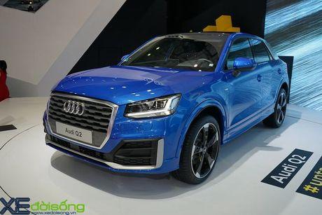 Chi tiet Audi Q2 the he dau tien tai VIMS 2016 - Anh 1
