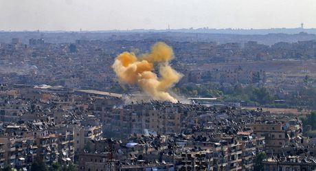 Chien binh dung ten lua chua khi doc tan cong quan doi Syria - Anh 1